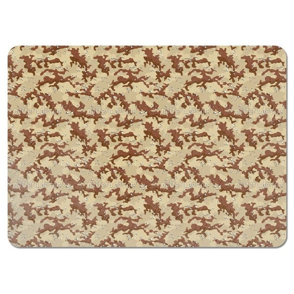 Old School Desert Camouflage Placemats (Set of 4)