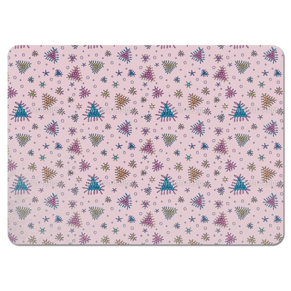 Berry Fall Pink Placemats (Set of 4)