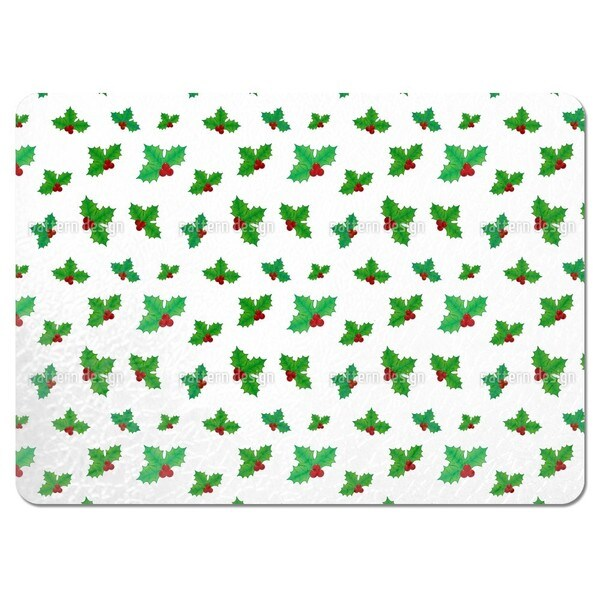 Holly Trio Placemats (Set of 4)