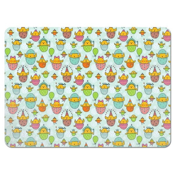 The Russian Easter Chick Hatch Placemats (Set of 4)