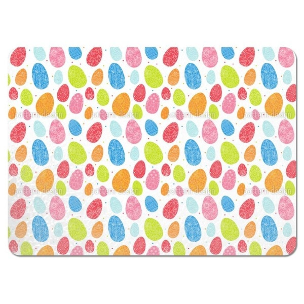 Eggs Dressed Up To Party Placemats (Set of 4)