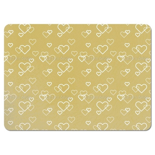 Heart of Gold Placemats (Set of 4)