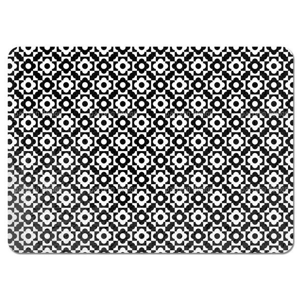 Geometric Flower Shapes Placemats (Set of 4)