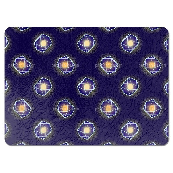 Polygons Shine Placemats (Set of 4)