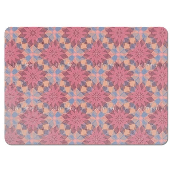 Starflowers of Harlequin Placemats (Set of 4)
