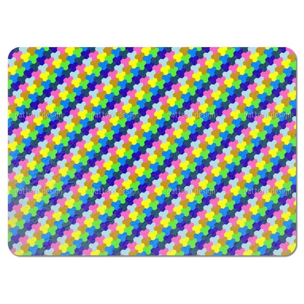 Play with Hexagons Placemats (Set of 4)