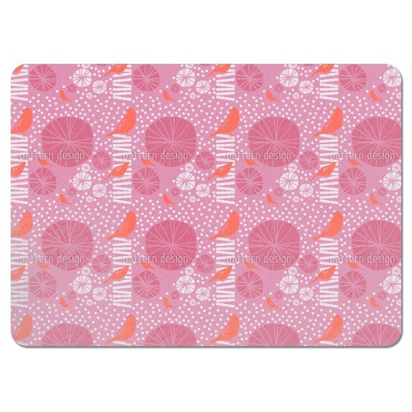 Poppy Paradise 2 Placemats (Set of 4)