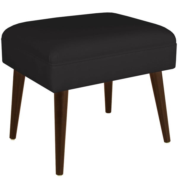 Skyline Furniture Twill Black Ottoman