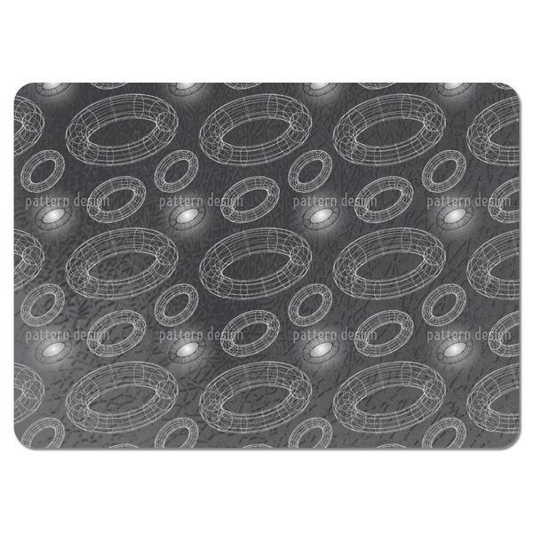 Attack of the Wire Rings Placemats (Set of 4)