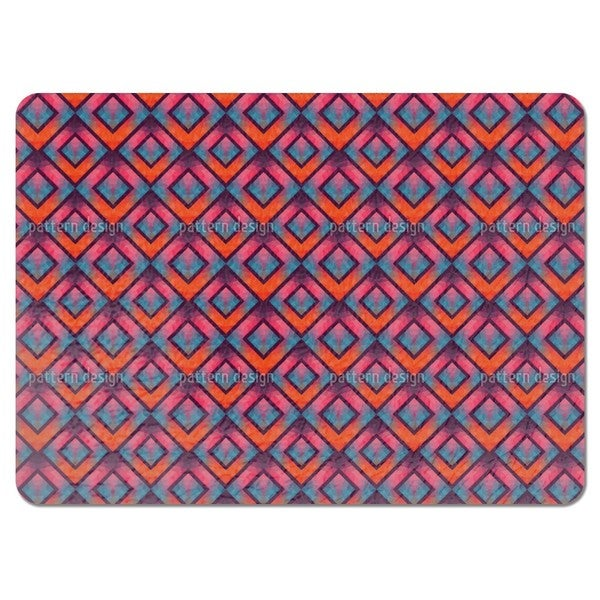 Crystal Retro Mosaic Placemats (Set of 4)
