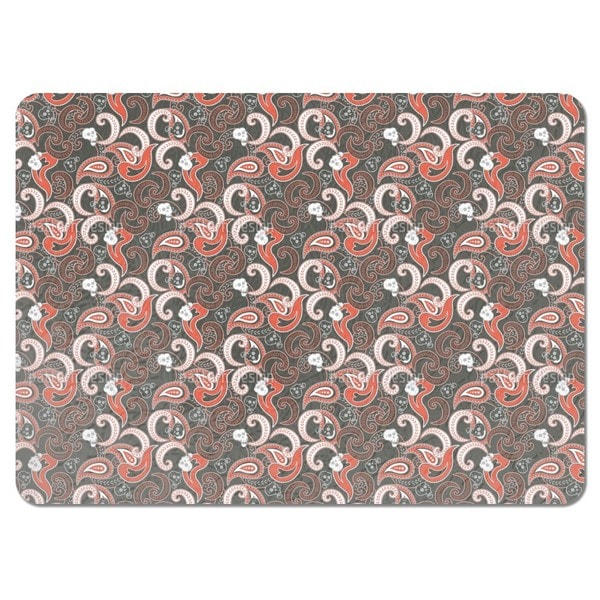 Rocking Orient Grey Placemats (Set of 4)