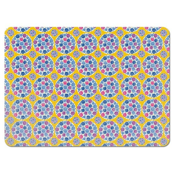 Flower Bouquet Yellow Placemats (Set of 4)