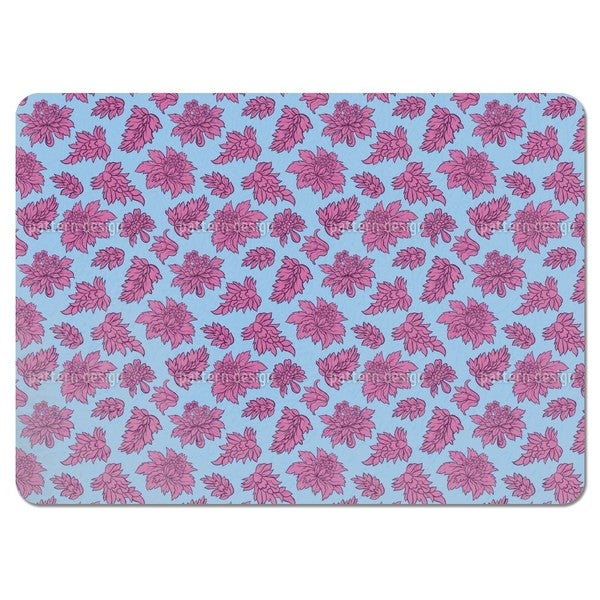 Baroque Bloom Blue Placemats (Set of 4)