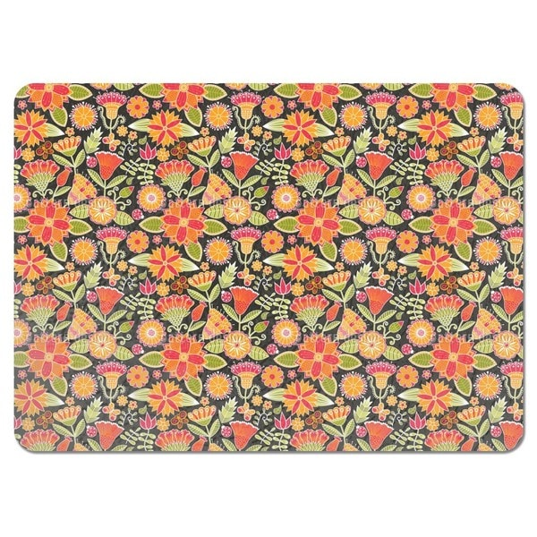 Cheerful Garden Folklore Placemats (Set of 4)