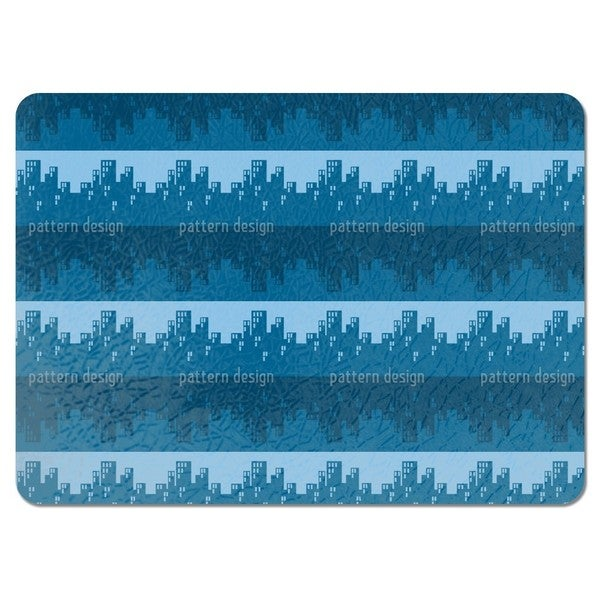 The Skyline Blues Placemats (Set of 4)