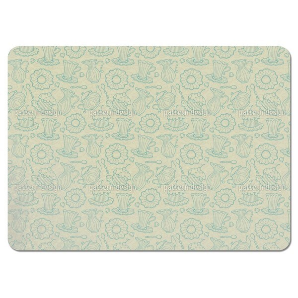 Hen Party Yellow Placemats (Set of 4)