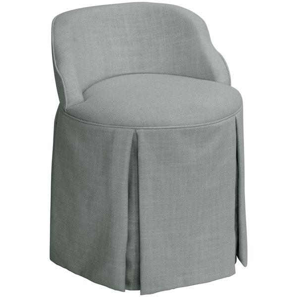 Skyline Furniture Skyline Linen Grey Vanity Chair