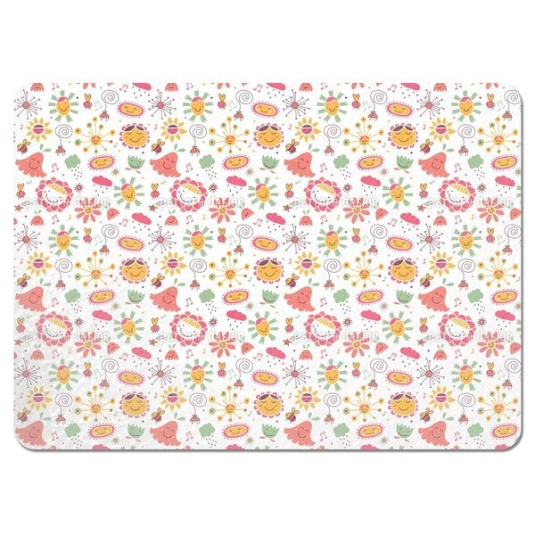 The Flower Song Placemats (Set of 4)