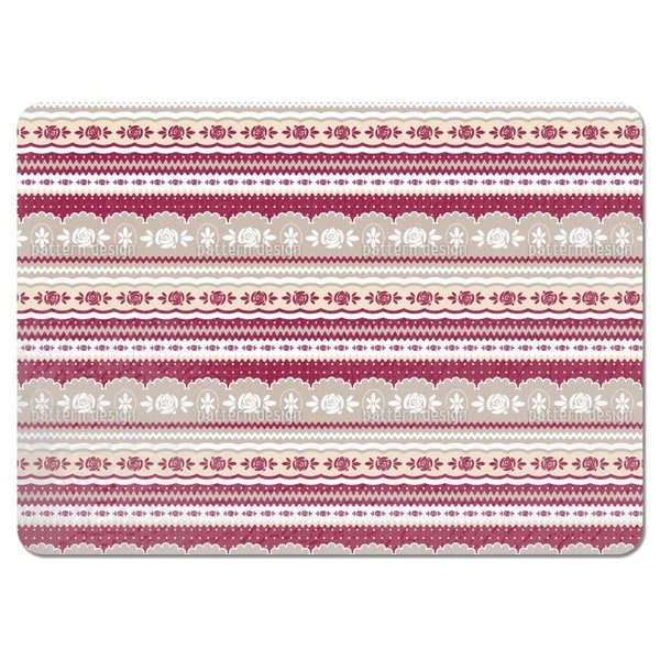 Mamas Little Rosy Placemats (Set of 4)