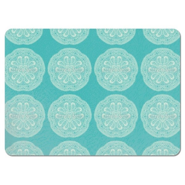 A Cool Touch of Doily Placemats (Set of 4)