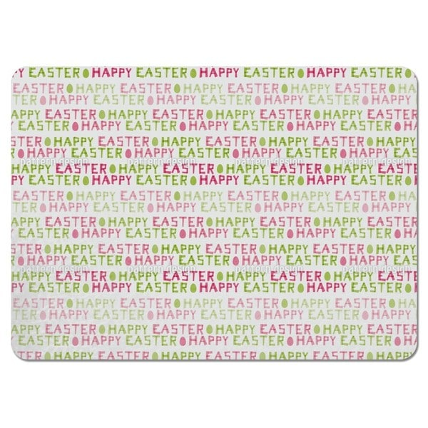Happy Easter Eggs Placemats (Set of 4)