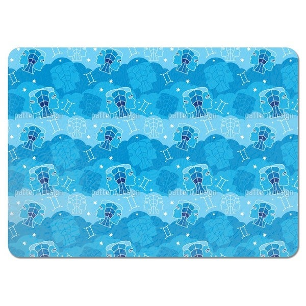 Born in Gemini Sign Placemats (Set of 4)