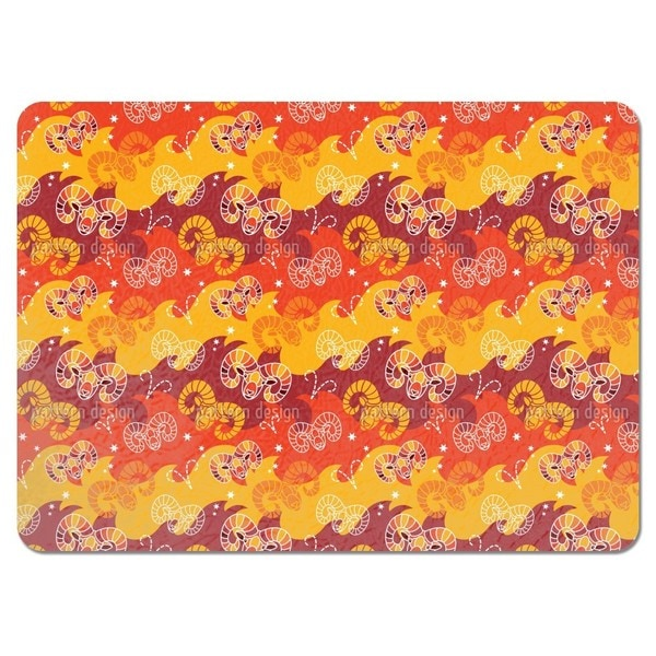 Born in Aries Sign Placemats (Set of 4)