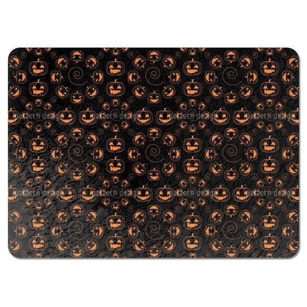 Scary Halloween Pumpkins Placemats (Set of 4)