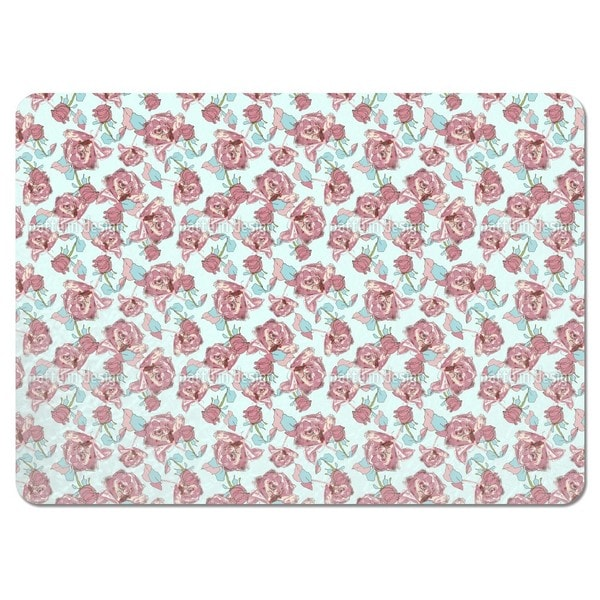 Bed of Roses Placemats (Set of 4)