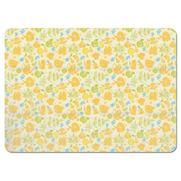 Tea Time in the Garden Placemats (Set of 4)