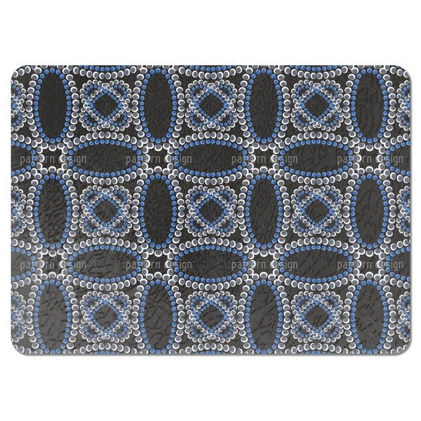 Beads by Moonlight Placemats (Set of 4)