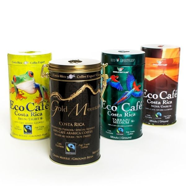 igourmet The Eco Cafe Gift Tin Collection