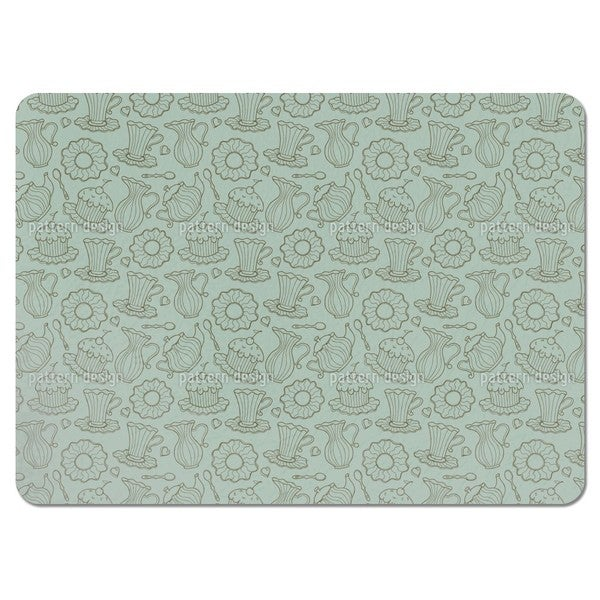 Hen Party Green Placemats (Set of 4)