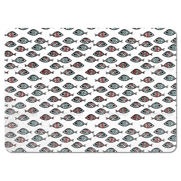 Swarm of Fish Placemats (Set of 4)