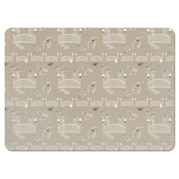 Kitten Bridge in Paris Placemats (Set of 4)