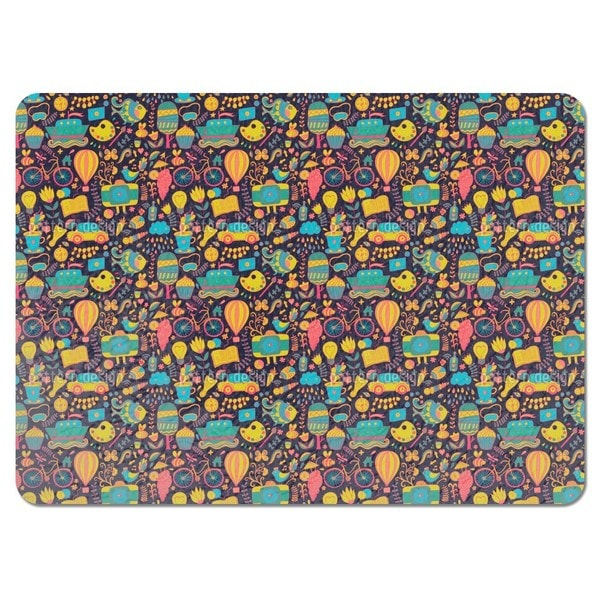 Funny Leisure Time at Night Placemats (Set of 4) 20796497
