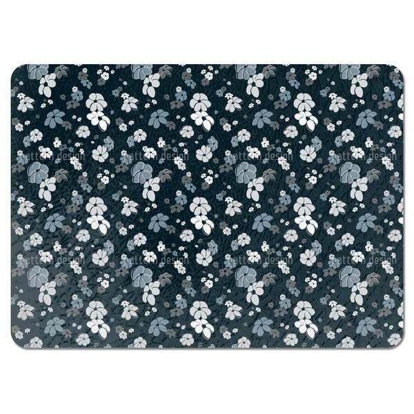 Blue Flower Rain Placemats (Set of 4)