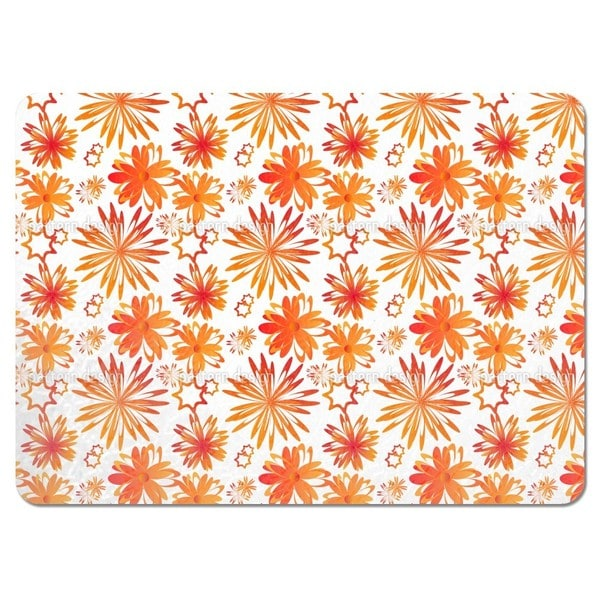 Rotating Flowers Placemats (Set of 4)