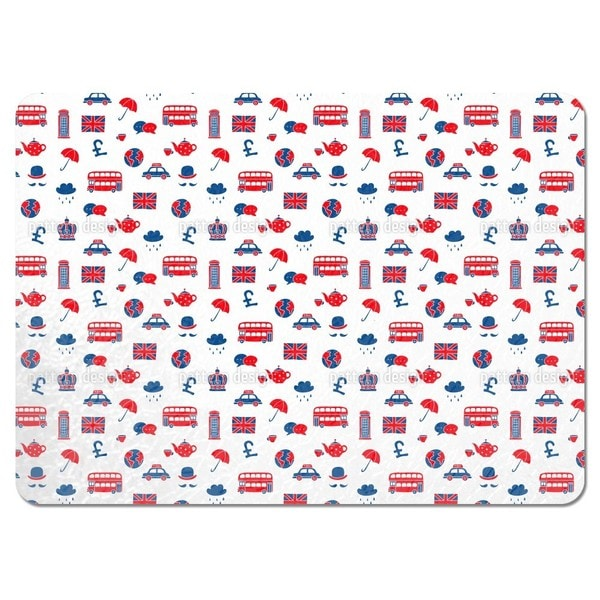 Visit To Britain Placemats (Set of 4)