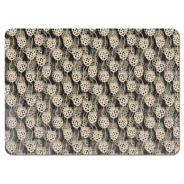 Seed Capsule Impressions Placemats (Set of 4)