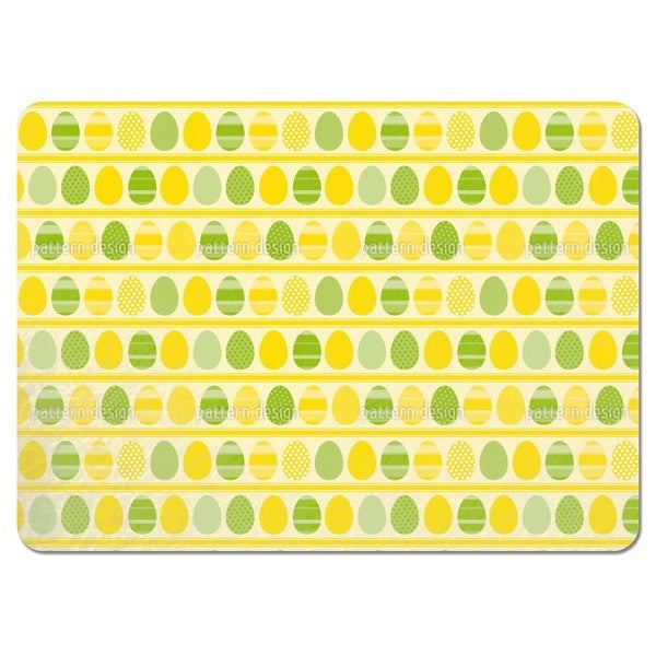 Easter Eggs Light Placemats (Set of 4)