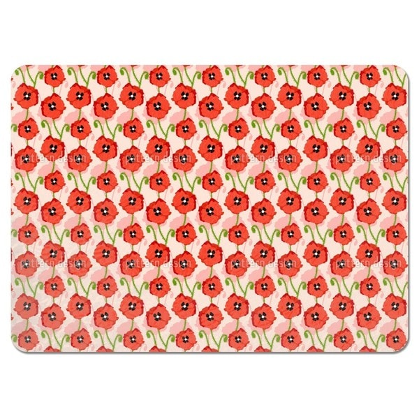 Red Poppies Placemats (Set of 4)