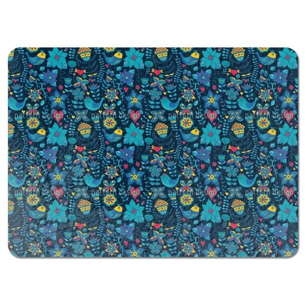 The Garden of Pandora at Night Placemats (Set of 4)