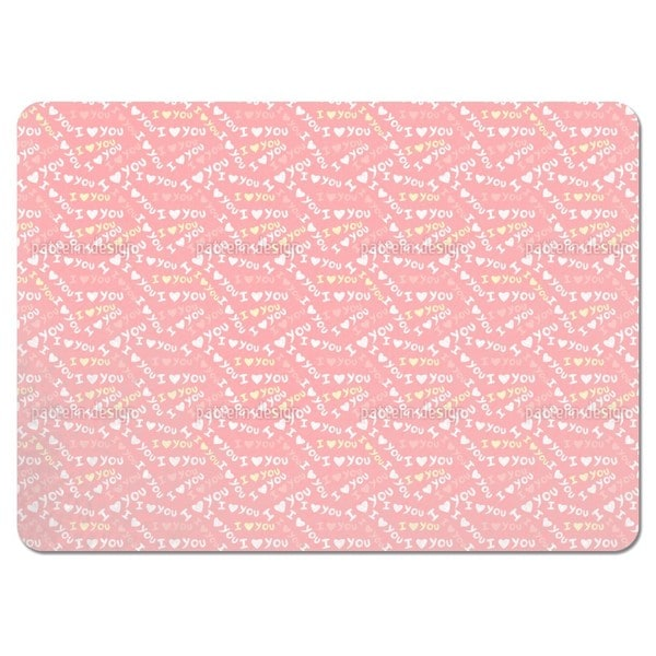 I Love You Placemats (Set of 4)
