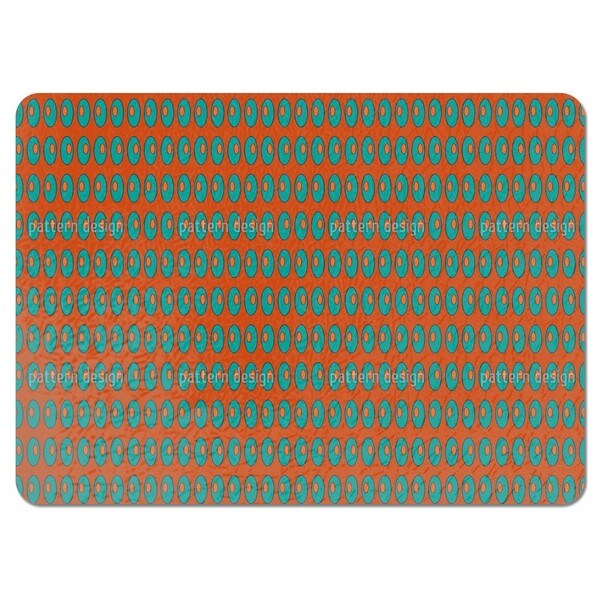 Ellipses Left Right Left Placemats (Set of 4)