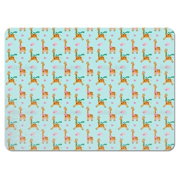 Cute Giraffe Placemats (Set of 4) 20796995