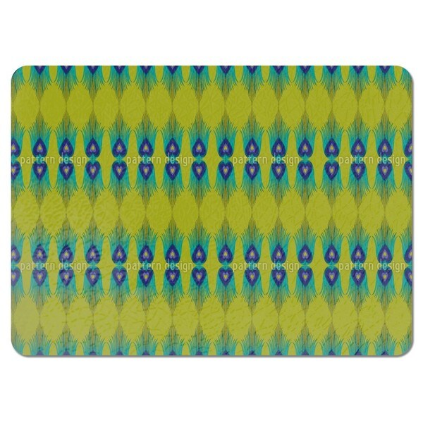 The Heart of a Peacock Placemats (Set of 4)