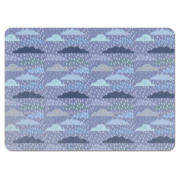 Thunder Cloud Patchwork Placemats (Set of 4)