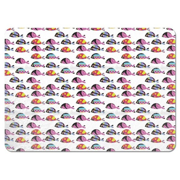 Disco Fish Placemats (Set of 4)