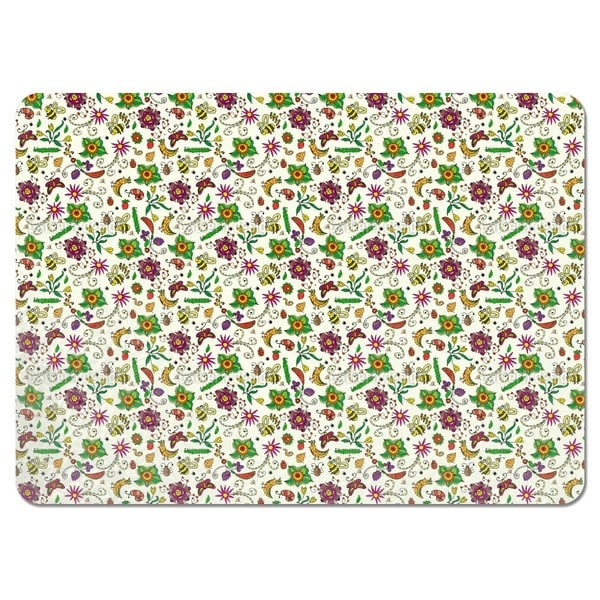 Summer Blossom Meadow Placemats (Set of 4)